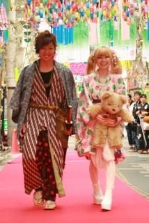 続) ファッションショー in 長野七夕まつり